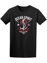 Морские собаки онлайн-Ocean Spirit Sea Dog приключения мужская Tee-печатный летний стиль мужской Harajuku фитнес бренд одежды мужчины Майка новинка О-образным вырезом топы