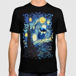 Iphone 5c t en Ligne-2018 nouveau t-shirt Soaring Tardis médecin nuit étoilée iPhone 4 4s 5 5c 6, taie d'oreiller, tasses et t-shirt
