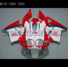 Wholesale Honda Mc19 Fairing - Bodywork Full Set Body Fairing Kit for Honda CBR250R CBR250 MC19 1988 1989