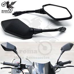 2019 miroirs universels à moteur 10mm 8mm vis universal dirt bike partie de motocross VTT Quad moto rétroviseur moto accessoires moto miroirs miroirs universels à moteur pas cher