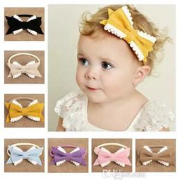 9c1b85cef77cb0 boutique baby gifts Promo Codes - Wholesales Nylon Bowties 8 Colors  Exquisite Hair Bows Kids Boutique