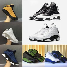 Wholesale Box Love - (with box) New Mens 13 13s Basketball Shoes Altitude Bordeaux Love & Respect Olive black cat wheat bred flints Sports sneakers US 8-13