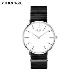 orologi watch fashion NZ - Watches Women Fashion Watch 2017 Unisex Watches  CHRONOS Rose Gold Silver 0f122a6ec5a0