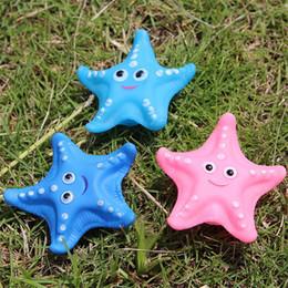 Stella marina di plastica online-CALDO Baby Bath Toys Baby Bath Acqua Anatra Suoni Mini Starfish Elefante Pesce Bambini Bagno Piccoli Giocattoli Anatra Spiaggia Nuoto Regali Spedizione Gratuita B0096