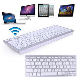 Evrensel Bluetooth Kablosuz Ultra-ince İnce Alüminyum Alaşım Klavye Android Windows iOS Tablet PC Laptop için DHL FEDEX EMS ÜCRETSIZ KARGO nereden