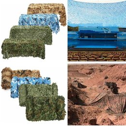 Wholesale Camo Car Covers - 2 X 3M Military Camouflage Net Woodlands Leaves Camo Cover For Camping Hunting