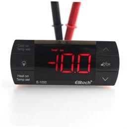Monitores cool on-line-Freeshpping 220 V10A Digital Controlador de temperatura inteligente Termostato Monitor com sensor de Temperatura botão de toque Interruptor de aquecimento de refrigeração auto