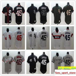 embroidery stores Coupons - 2019 Men s Online Store Wholesale Co White Sox  45 Michael Jor Baseball f6044f508