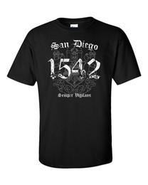 Wholesale men surfing shirt - San Diego T-Shirt Flag California CA USA Seal Palms Beach Surf Summer Men Tee