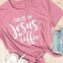 88b9192c9c7e99 2019 maglie stampate jesus 2018 T-shirt rossa basic estiva da donna e  maglietta a