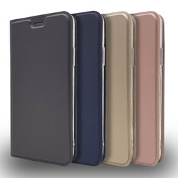 Discount iphone 5s slim wallet case - For iphone 7 6S 8 plus X High quality PU magnet leather case for For iphone9 9plus 5s Slim Ultra Thin Leather Case