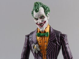 "joker cloth Promo Codes - Toy Figures Dc Suicide Squad Joker with Cloth Action Figure PVC Doll Collectible Model Toy 7 ""18cm Suicide Squad Joker Character"