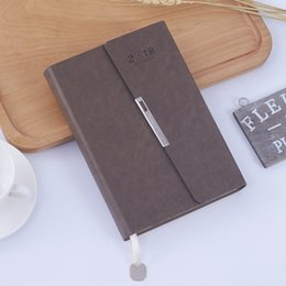2018 year agendar A5 calendar planner writing pads daily company binder school monthly plan diary office supplies student gift