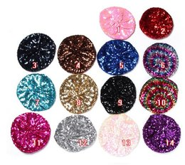 Wholesale Cheap Pom Hats - New fashion Sequins caps Cotton All Team Football Pom Pom Beanies Men Women Winter Hats With Pom Cheap Sports Skull Caps Hot Sale