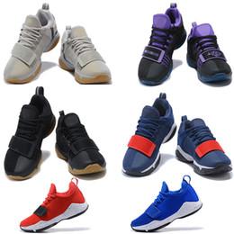 couleurs de jeux Promotion nike 2018 Nouvelles couleurs Paul George 2 Chaussures de basket-ball pour pas cher Top qualité PG2 1 All star Playstation Multicolor PG 2s baskets athlétiques US 7-12