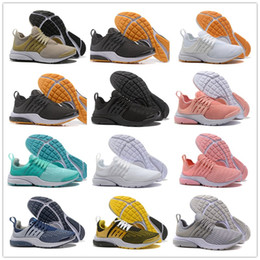 Wholesale open toe ivory shoes - 2018 Hot Air Presto 5 Ultra BR QS Black White All Yellow Purple Red Grey Running Shoes for Women Men Top Prestos V Casual Sports Sneakers