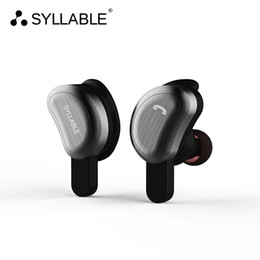 Wholesale Syllable Wireless Bluetooth - SYLLABLE True Wireless Stereo D9 Bluetooth Earphone IPX4 Waterproof In-ear Wireless Earbud Bluetooth Headset Two-hour Music Time