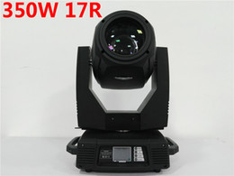 Wholesale Moving Head Gobo Beams - HOT 350W 17R Beam Spot Wash 3in1 350W gobo moving heads lights super bright For Concert Light Show