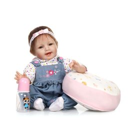 Wholesale figured out - Simulation Baby Doll Body Silicone Doll Upscale Gift Home Collection Doll Toy Reborn Baby Dolls Made out Of Silicone
