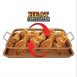 Wholesale Wholesale Bread Loaf Pans - Non Stick Oven Air Fryer Mesh Basket Crispy Tray Crisper Baking Pan Household Kitchen Tools New Arrive 29dp C