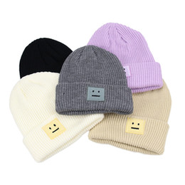 f80e03933ea pointed beanie Canada - Women Knitted Hat Autumn Winter Unisex Leisure Knit  Pointed Beanies Fashion Couple