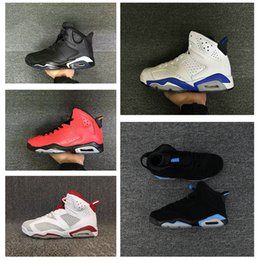Wholesale Gold Star Discounts - Super star Basketball Shoes play trainer 6 6s Infrared Men 6s UNC oreo Maroon casual Chrome Sport Blue Sneakers factory discount