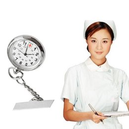 Wholesale Clock Nurse - Nurses Pocket Watch Trendy Large Face Portable Fob Clock Watches Durable Casual Personality Unisex Elegant Fob Watches Woman