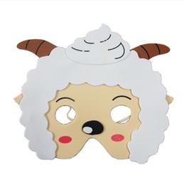 2019 детские развивающие игрушки Дети животных Маска пена Ева необычные платье PINNATA грабить мешок партии наполнители игрушки овцы скидка детские развивающие игрушки