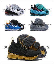 sale retailer 86791 7c4b6 2018 Explosion Lebron 15 James Lakers Men LBJ 15 Scarpe da basket uomo  ceneri Ghost Sneakers US7-12