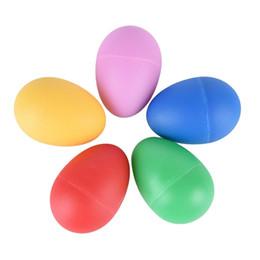 Jouets musicaux en plastique en Ligne-Multi-couleur en plastique mignon percussion maracas shakers oeuf musical grand bébé bambin enfants apprentissage précoce jouet