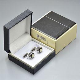 2019 gemelli in oro bianco per gli uomini prezzo all'ingrosso di alta qualità mb uomini camicia gemello gioielli moda gemelli in metallo rame con scatola e il manuale di garanzia