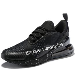 Wholesale half run - Half Vapormax 270 running shoes For mens womens flair 27C fashion sneakers outdoor walking hikking trainers sports shoes 36-45