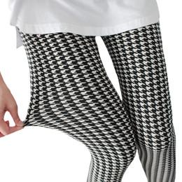 Wholesale white ladies leggings - 2018 High Quality Leggings Women Floral Elastic Printed Leggings Lady White Stripe Sporting Leggings Black Fitness Push Up Jegging