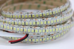 Levou luz fita branca on-line-5 m / lote IP65 À Prova D 'Água 240led / m 2835 SMD 1200 Fita Fita LED DC12V 10mm Largura Flexível Luz 5 m / lote Branco Quente Branco