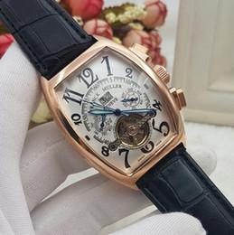 599b96f2beb Aaa luxo homens relógios movimento automático Tourbillon Tag Relógio  Mecânico relógio de Mergulho pulseira de couro dos homens Auto-vento relógio  de pulso ...