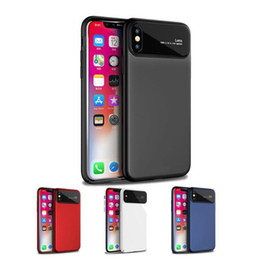 Wholesale shock camera - for Apple iphone X Case Camera lens Protector Shock-Proof PC Transparent Clear Phone Hard Cover with Tempered Glass