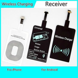 Wholesale Universal Cellphone Charger - Universal QI Wireless Charging Receiver Charger Module For Micro USB Cellphone