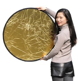"""Wholesale Photo Discs - 80cm 5 in 1 32"""" 80cm 5 in 1 Light Mulit Collapsible Disc Reflector Portable Light Round Photography Photo Reflector"""