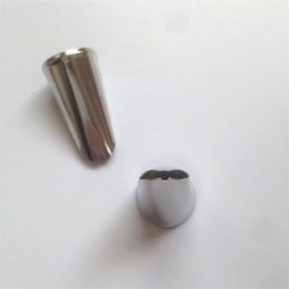 Wholesale Ice Mold Pipe - 1pc Stainless Steel Icing Piping Nozzles Pastry Tips Set Cookies Mold Cake Decorating Tools Nozzle For Cake Kitchen Accessories