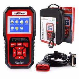 Wholesale Auto Scanner For Toyota - KONNWEI KW850 New Best OBD 2 OBD2 Autoscanner Automotive Scanner Multi-languages Auto Diagnostic Tool Better Than AL519