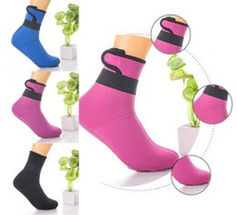 Wholesale Warm Boots For Men - 5 Color New Beach Socks Slip Warm Winter Swimming Socks For Kids Diving Supplies Scuba Dive Boots Water Socks Free DHL G452S