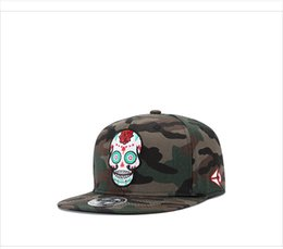Wholesale Golf Punk - New Printing Skull Punk Street Quality Cotton Men Women Hat Hats Baseball Cap Hip Hop Snapback Caps #ly