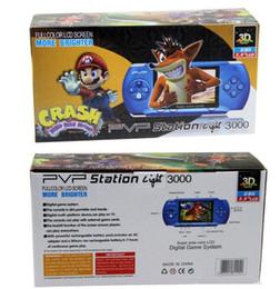 Игровой контроллер PVP3000 8 бит 999999 в 1 Поддержка FC PXP PMP Радио ТВ-выход Музыка Мини Портативный игровой плеер контроллеры бесплатно DHL от Поставщики битовый контроллер