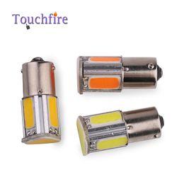 Wholesale 12v p21w bulb - 2pcs lot P21W 1156 BA15S S25 1157 BAY15D Bulb Tube Auto Wedge led lights 12v Width Interior Signal brake Lighting Car Styling
