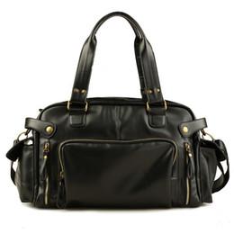 Vintage travel bag Men handbag luggage duffle bag valise de voyage weekend  Shoulder Male leather shoulder bags bolsa viagem 43dcd00f00c3c