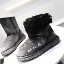 2018 Oem scarponi da neve femminile inverno pelliccia uno caldo antiscivolo  resistente all usura tubo corto impermeabile in pelle di grandi dimensioni  ... 666eaf76e5c