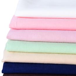 Argentina Xintianji tela de algodón 100% peinada de algodón de color sólido tejido fino para el forro del vestido en verano 50 * 145 cm / pieza W300003 cheap dress fabrics line Suministro