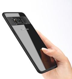 Wholesale Eagle Eye Blue - Wholesale Hard Transparent PC + Silicone TPU Slim Case For Samsung Galaxy S8 plus Eagle eye style phone case