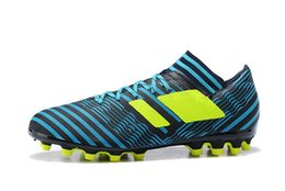 Wholesale Mens Low Ankle Shoes - HOT SALE ACC NEMEZIZ 17.3 AG TF MENS SOCCER SHOES LOW ANKLE FOOTBALL BOOTS NEW SNEAKERS OUTDOOR FOOTBALL SHOES SIZE 39-45 FREE SHIPPING