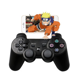 Wholesale New Joystick Game - 2018 New 2.4GHz Wireless Bluetooth Game Controller For sony playstation 3 PS3 SIXAXIS Controle Joystick Gamepad A-SYB